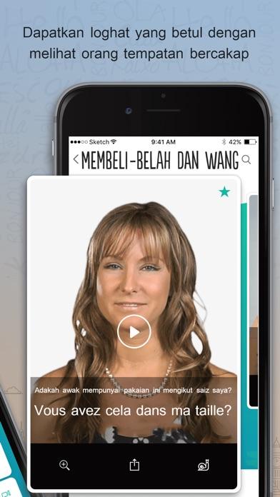 Screenshot for Trocal Perancis in Malaysia App Store