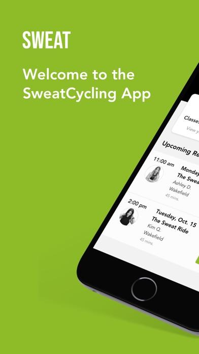 Sweat Cycling 1