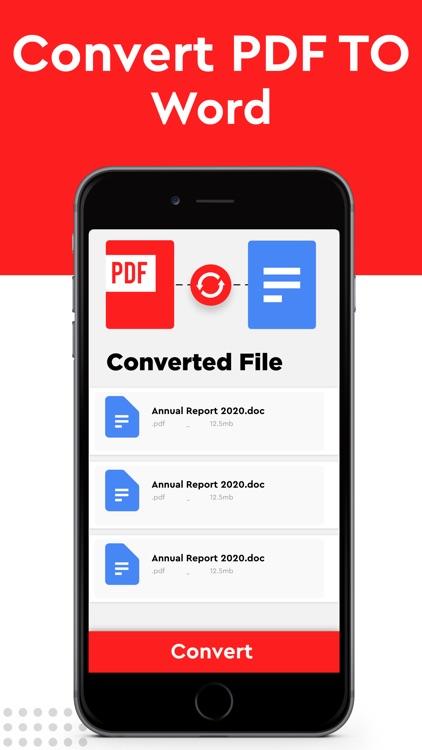 PDF Converter to JPEG & Word screenshot-6
