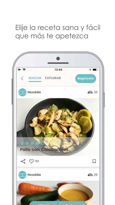 download Nooddle App - Recetas sanas apps 4