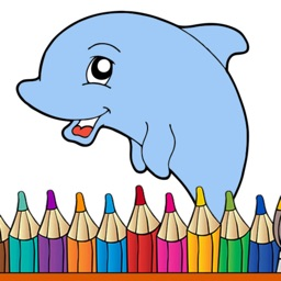 Animal Coloring Pages & Book