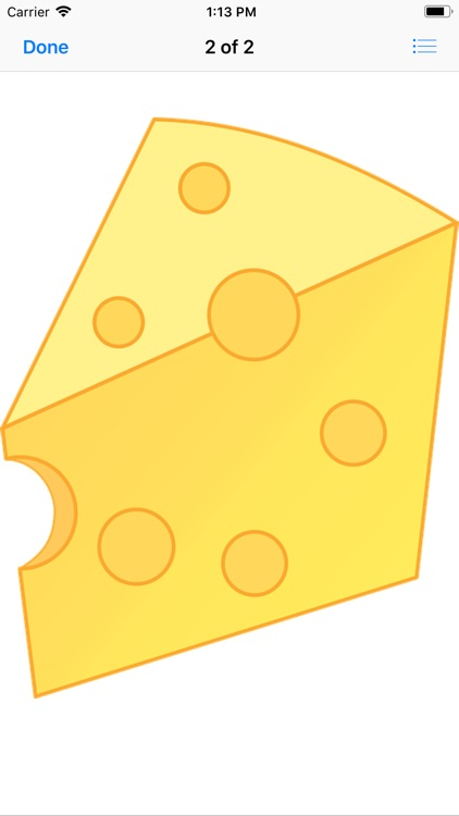 Tasty Cheese Stickers screenshot-3