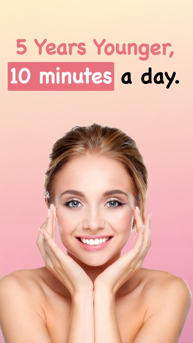 Face Yoga - フェイスエクササイズのおすすめ画像1