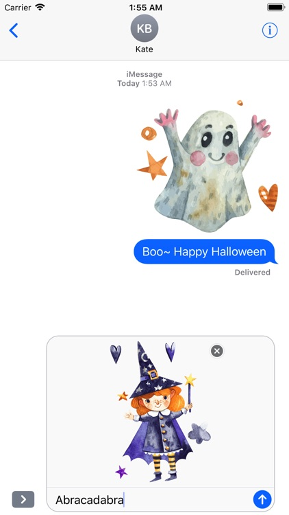 Nice Watercolor Halloween Pack screenshot-4