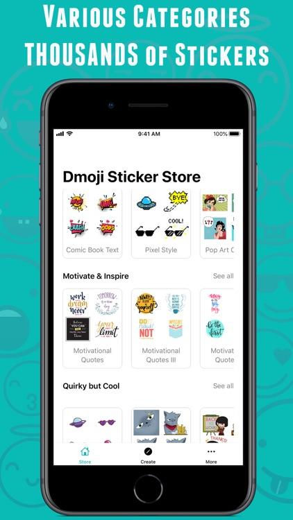 Dmoji: Sticker Maker & Emoji screenshot-5