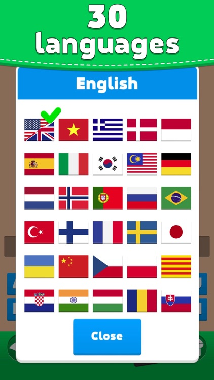Flags Quiz - Word Puzzle Game screenshot-4