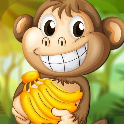 Jungle Monkey Run Pick Banana