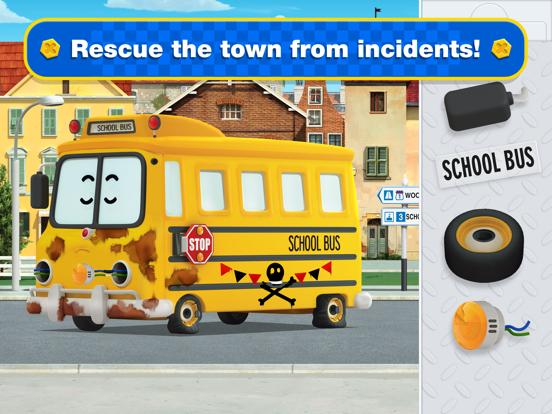 Ipad Screen Shot Robocar Poli: Rescue City Cars 1