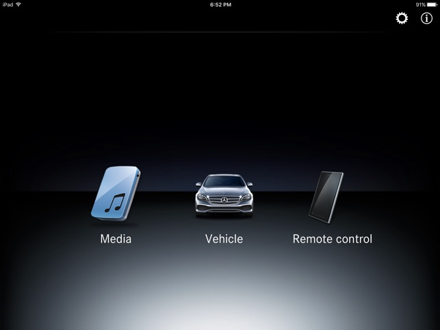 COMAND Touch on the App Store