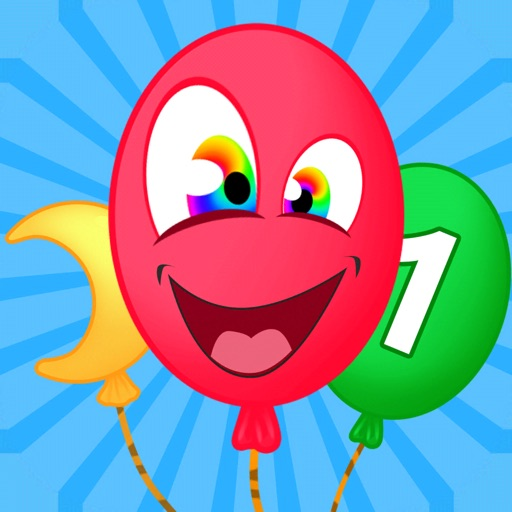 Balloon Pop Education for Kids icon