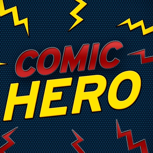 Comic Hero - Say it like hero icon