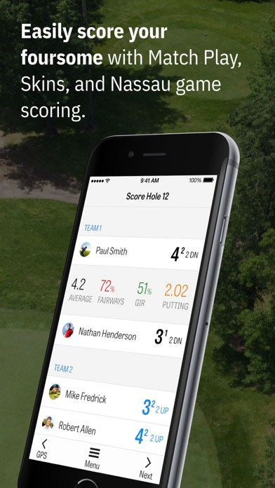 Golfshot: Golf GPS + Caddie Screenshot