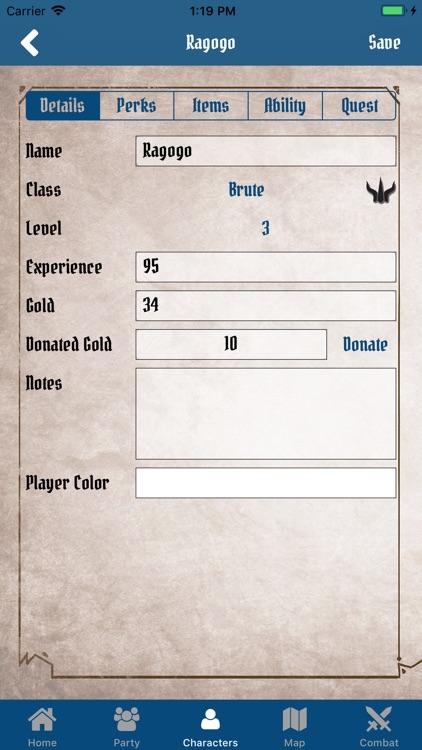 Gloomhaven Campaign Tracker screenshot-4