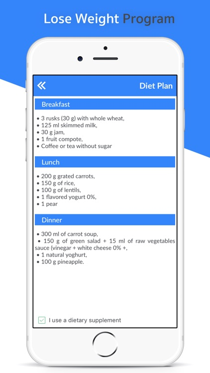 Lose Weight: Diet and Exercise screenshot-3