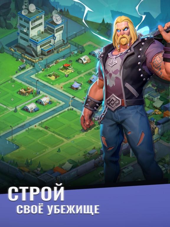 Скачать Zombie Blast Squad: Пазл РПГ