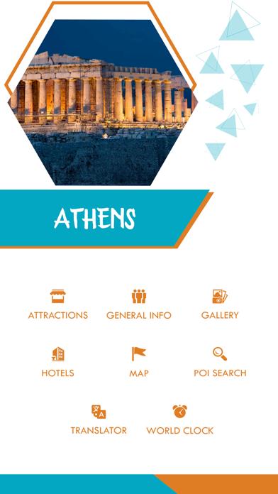 Athens Offline Guide screenshot two