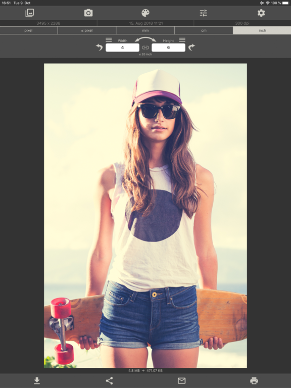 Image Size screenshot
