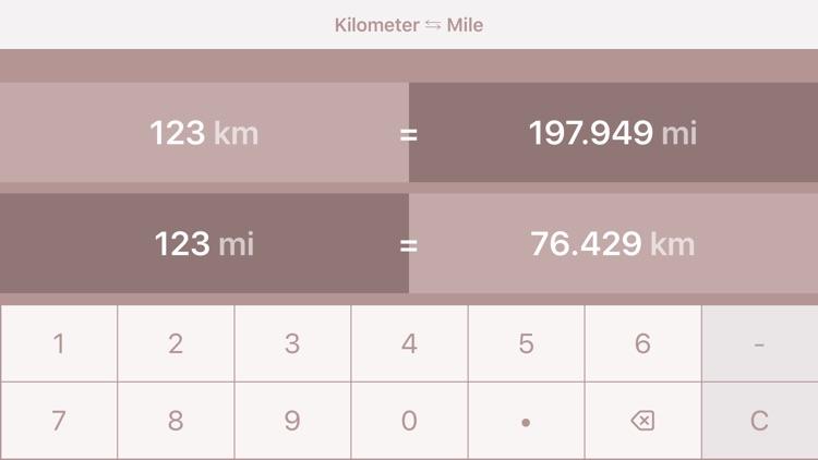 Kilometers to Miles | km to mi screenshot-5