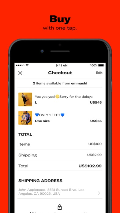Screenshot for Depop - Shop. Unique. Fashion in Norway App Store