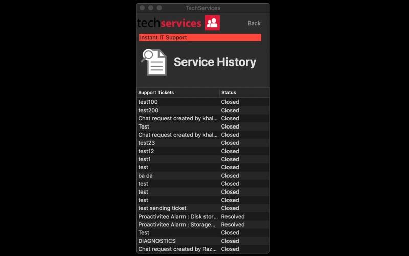 Tech Services скриншот программы 5