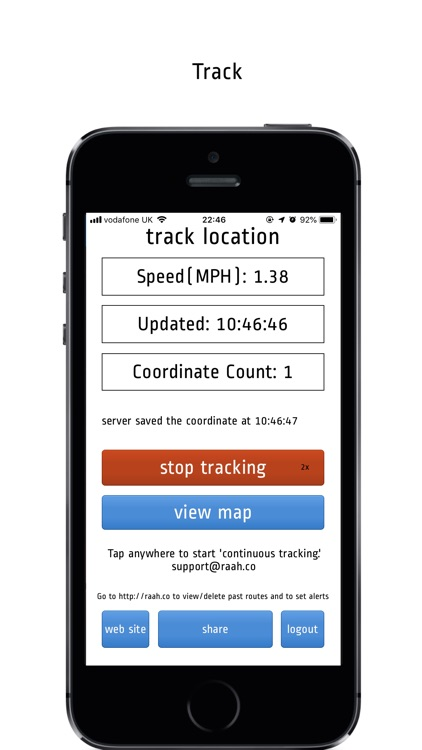 Route Tracker Pro Version