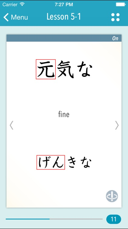 GENKI Kanji Cards for 2nd Ed.