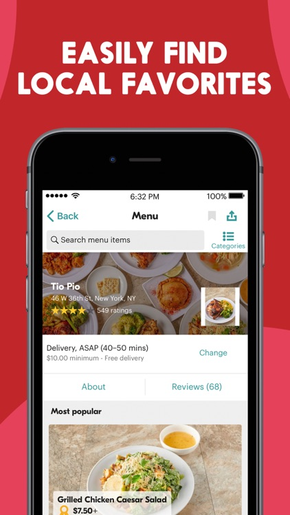 Seamless: Local Food Delivery screenshot-3