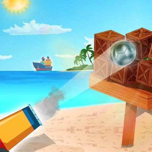 Cannon Ball : Shoot Down Block