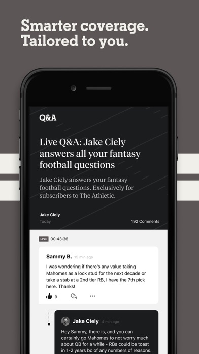 messages.download The Athletic: Sports News software