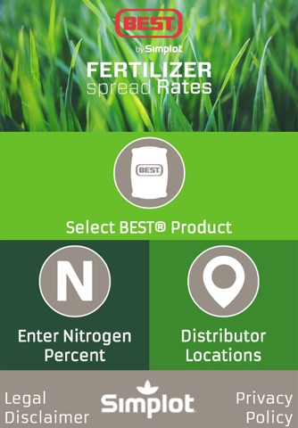 BEST® Fertilizer Spread Rates - náhled