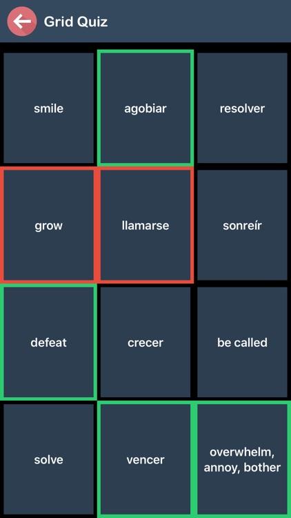 Spanish Verb Blitz screenshot-5