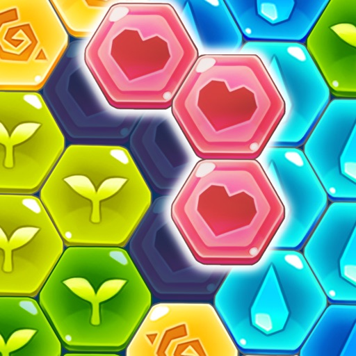Block Hexa Puzzle : My Flower