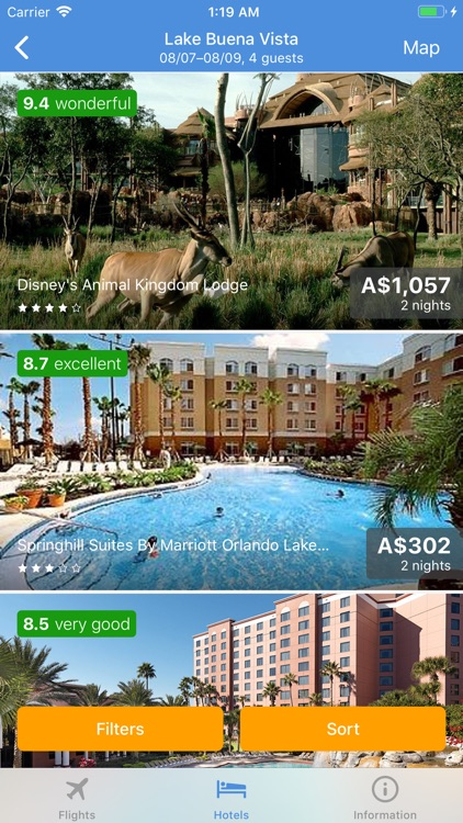 TRAVELO Flights, Hotels & Cars screenshot-6
