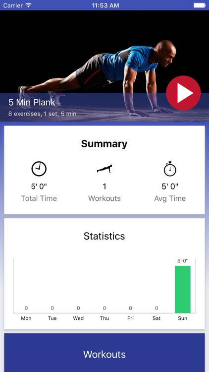 5 Minute Plank Challenge PRO by Mobway Solutions SRL