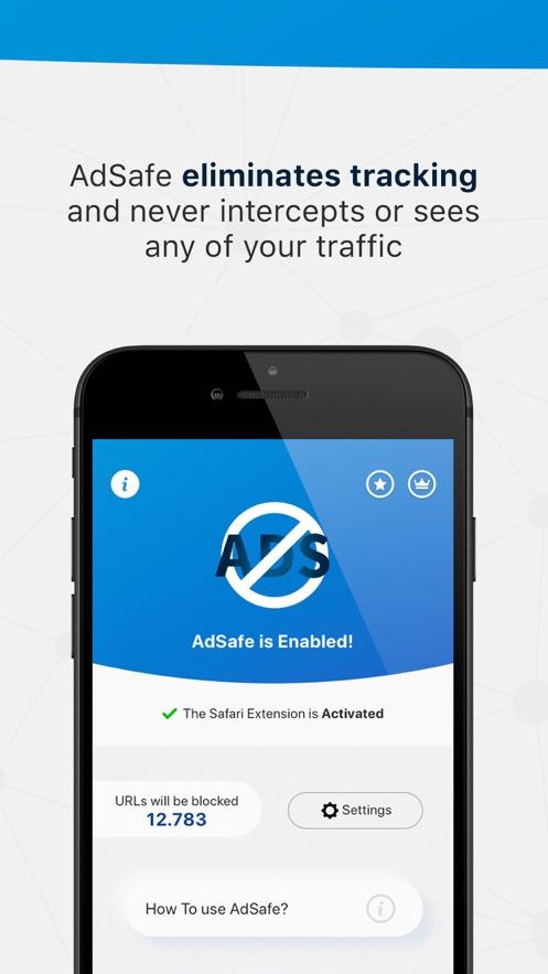 AdSafe App 截图