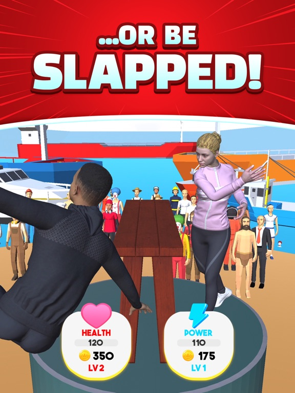 iPad Image of Slap That - Winner Slaps All