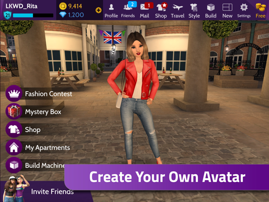 Avakin Life – A Virtual World of Avatars and Chat screenshot