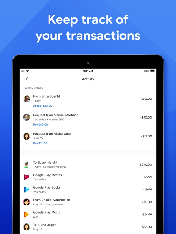 Screenshot #2 for Google Pay