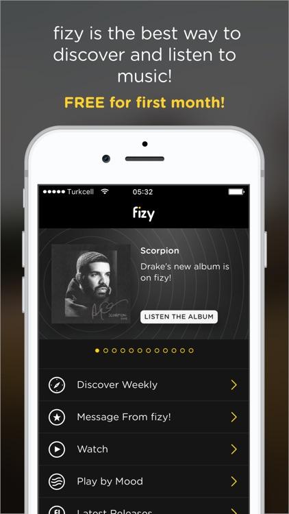 fizy – Music & Video screenshot-0