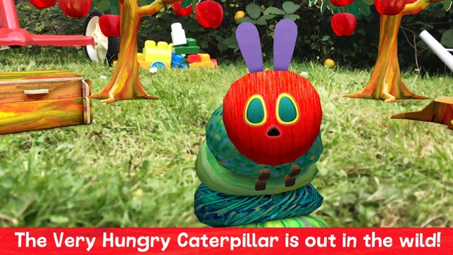 My Very Hungry Caterpillar AR on the App Store