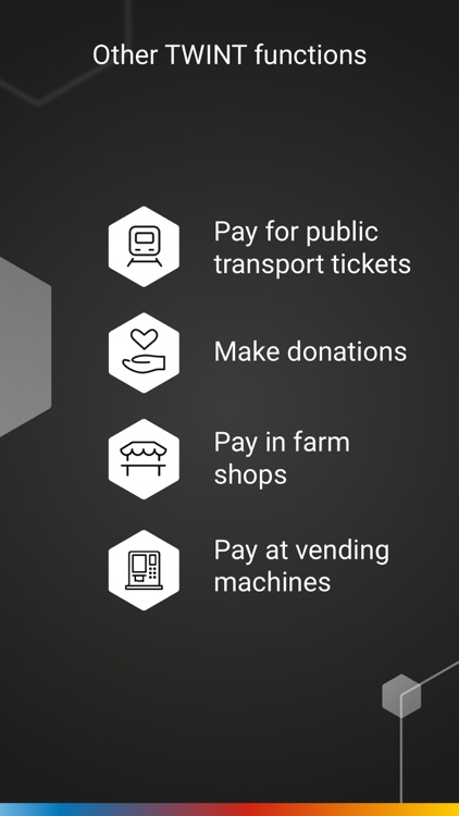 prepaid TWINT & other banks screenshot-5