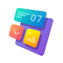 Widgets: Calendar&Clock&Date