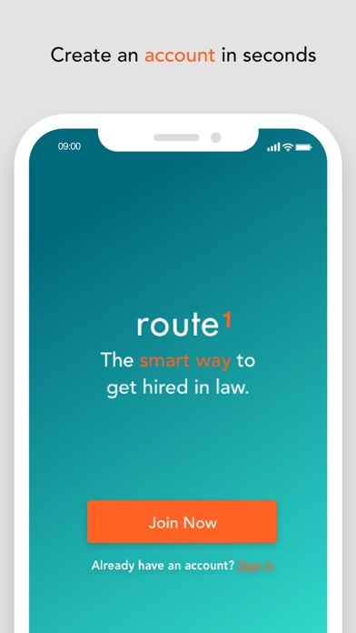 Route1 – legal jobs screenshot two