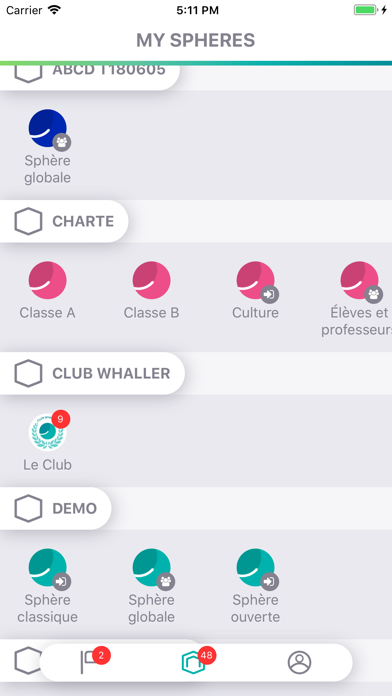messages.download Whaller software