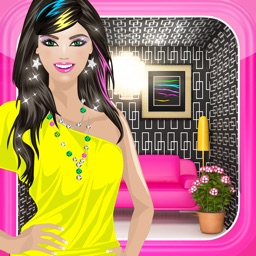 Dress Up Games™ 3-in-1 Makeover, Decorating, and Fashion Game for Girls