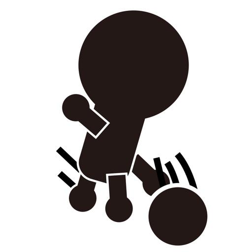 棒人間がボウリング