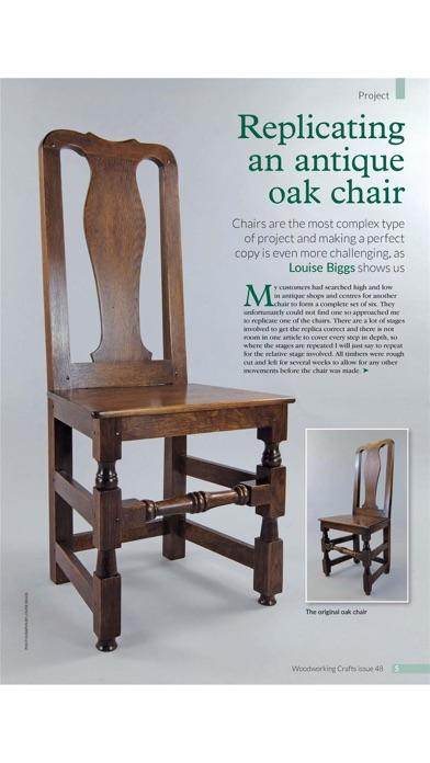 Woodworking Crafts Magazine review screenshots