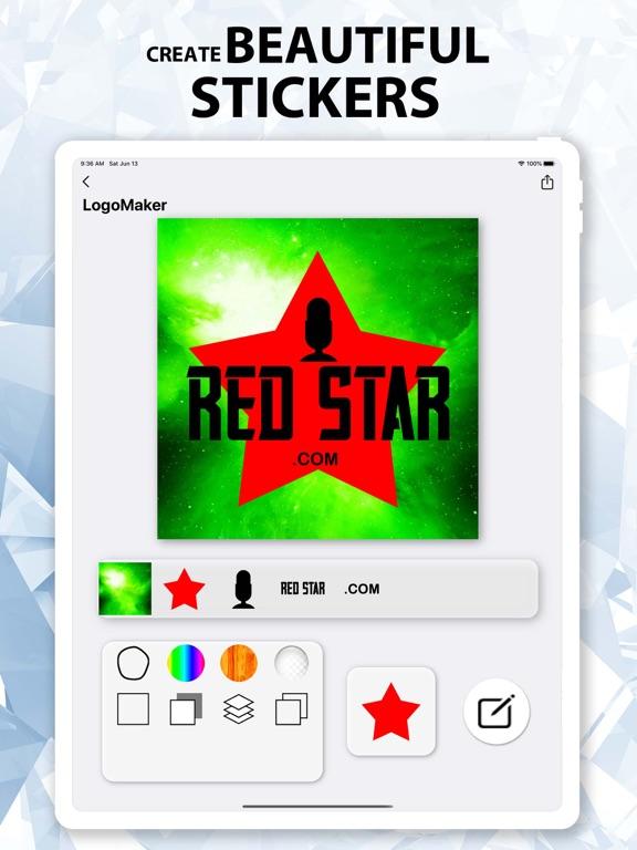 Ipad Screen Shot Logo Maker^ 7