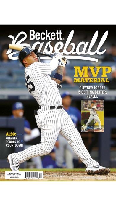 Beckett Baseball Screenshot