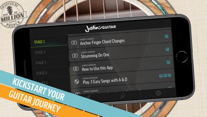 Justin Guitar Beginner Lessons Screenshot